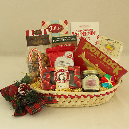 Holiday #O Holiday Northwest Bounty Gift Basket