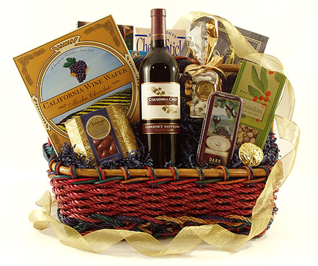 1A Gourmets Delight Gift Basket