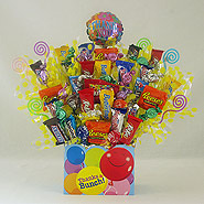 #105 Thank You Candy Bouquet Gift Basket
