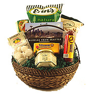#10C The Medium Crowd Pleaser Gift Basket at $58.95