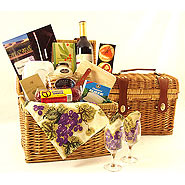 11 Washington Wine Country Picnic Hamper Wine Basket