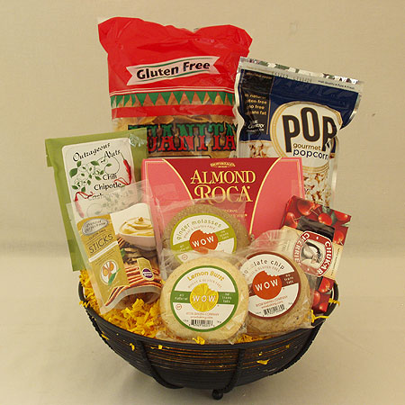 #117 Gluten Free Snacks Gift Basket