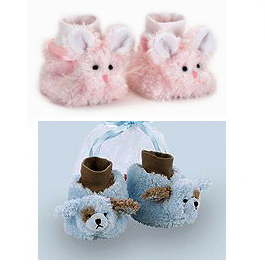 #117 Baby Animal Booties! Bunnies and Puppies!