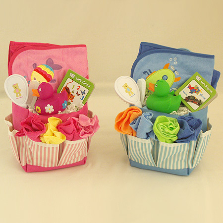 #128 Bath Time Gift Basket