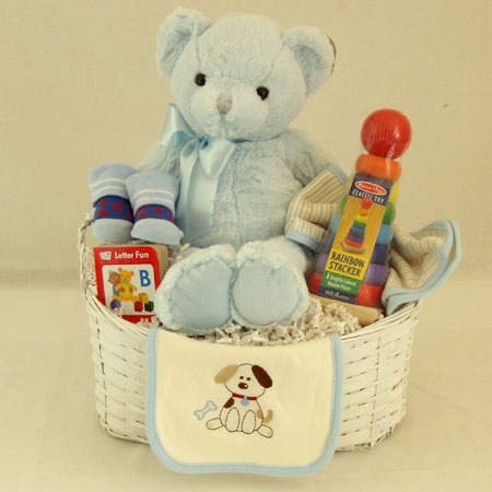 #14B Bundle of Joy Baby Boy Gift Basket