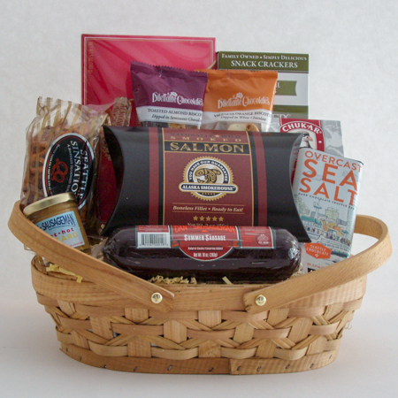 #15C Pacific Northwest Greetings Gift Basket