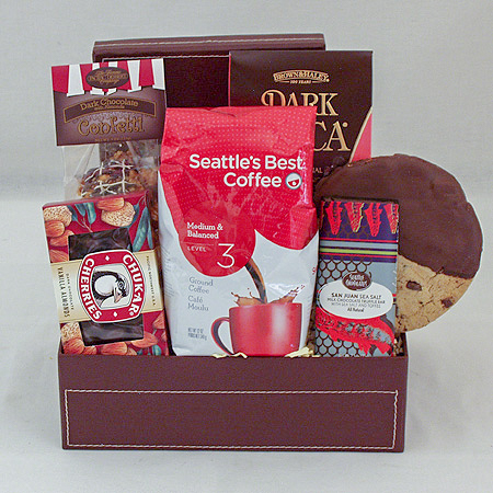 15B Seattles Best Coffee And Chocolates Gift Basket