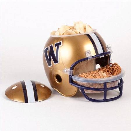 #163B University of Washington Huskies Snack Helmet