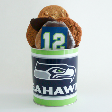 #168 Seahawks Cookie Tin