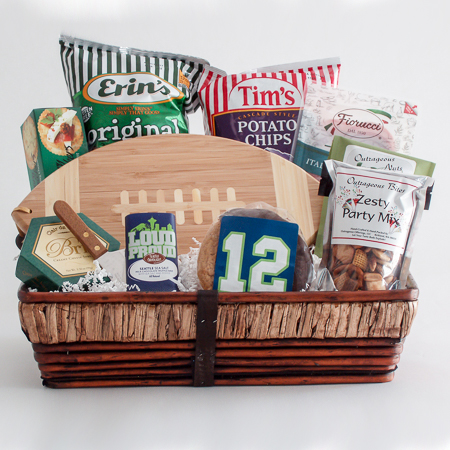 #170 The 12th Man Tailgate Gift Basket