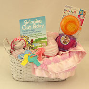 #18A Bringing Out Baby Girl Gift Basket