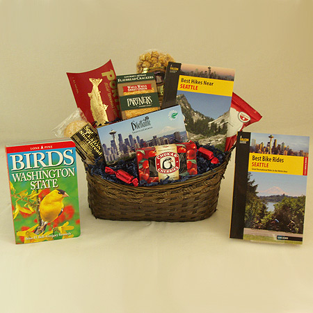 #19B Best Bike Rides Seattle Gift Basket