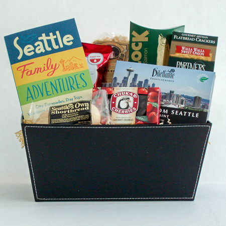 #19A Seattle Family Adventures Gift Basket