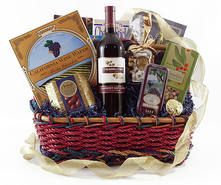 #1A Gourmet's Delight Gift Basket