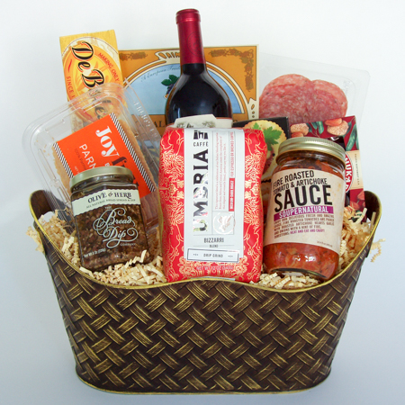 1B Pasta Night & Celebration Gift Baskets - Send the Best of the Northwest : Thank ...