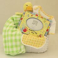 #39A Mommy and Me Baby Gift Basket