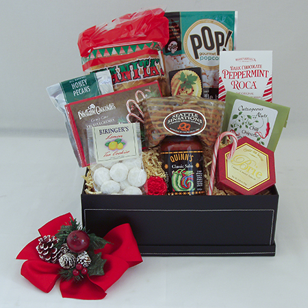 Holiday B Large Holiday Crowd Pleaser Gift Basket at $89.95