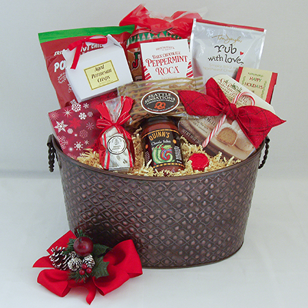 Holiday C Extra-Large Holiday Crowd Pleaser Gift Basket at $99.95