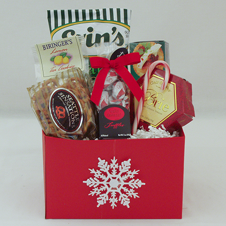Holiday G Small Holiday Crowd Pleaser Gift Basket at $34.95