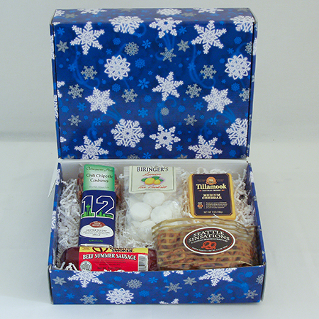 Holiday II Gourmet Greetings from the Pacific NW Holiday Gift Boxes with Tillamook Cheese and Summer Beef Sausage