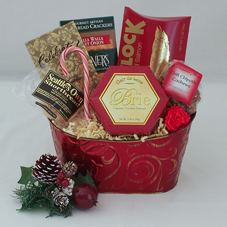 Holiday #I Northwest Sampler Holiday Gift Basket