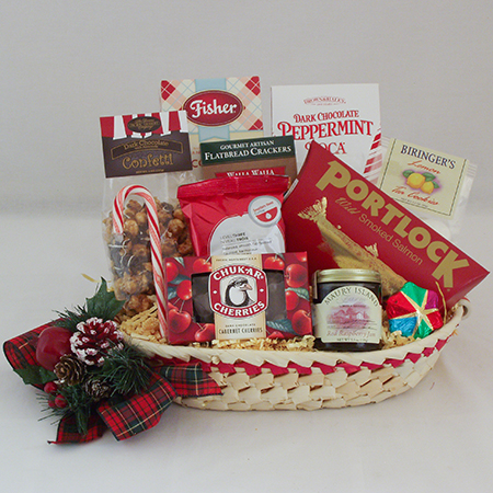 Holiday P Holiday Northwest Bounty Gift Basket