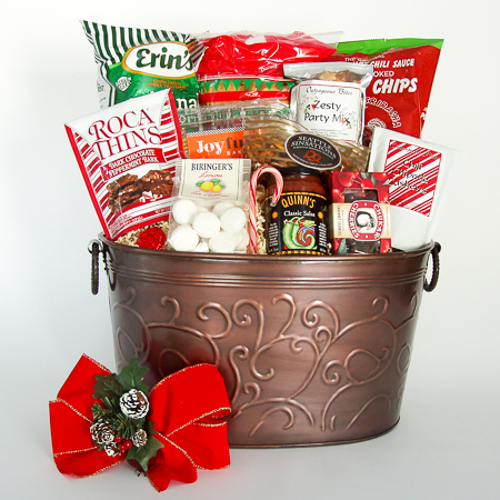 Holiday #B1 Large Holiday Crowd Pleaser Gift Basket at $99.95