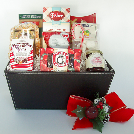 Holiday #Y  Holiday Northwest Bounty Gift Basket
