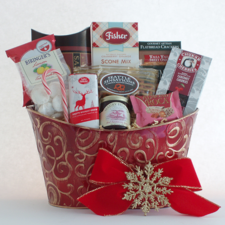 Holiday #BB Pacific Northwest Holiday Greetings Gift Basket