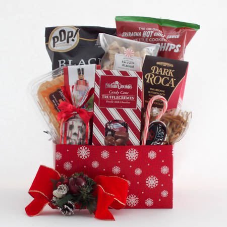 C Medium Holiday Crowd Pleaser Gift Basket at $74.95