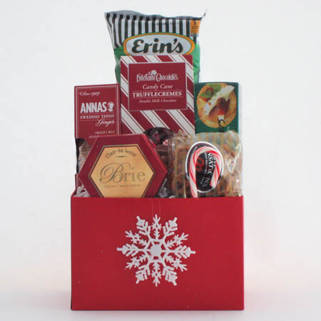 G Small Holiday Crowd Pleaser Gift Basket at $36.95