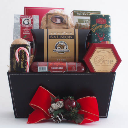 K Holiday Best Wishes Gift Basket