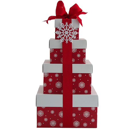 O Holiday Treats Stacked Gift Boxes at $99.95