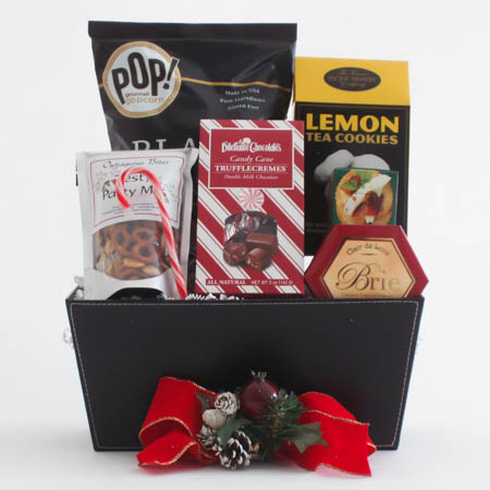 P  Medium Holiday Crowd Pleaser Gift Basket at $51.95