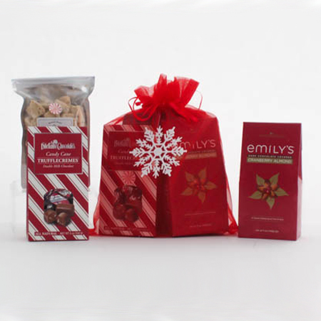 W Holiday Chocolates and Cookies Gift Bag