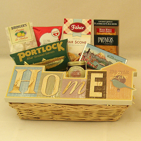 #29 Home - This Nest is Feathered with Love Gift Basket