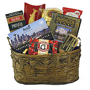 #2B Washington Gift Basket with Scenic Washington DVD