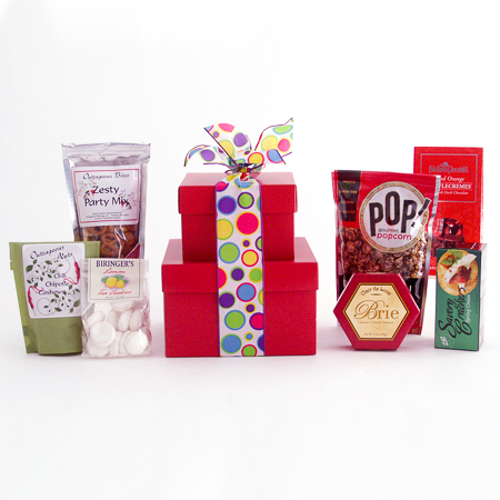 #30A Gourmet Treats Stacked Gift Boxes