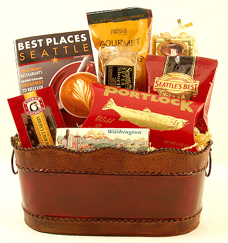 #33 Seattle's Best Places Gift Basket