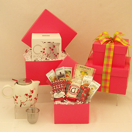 #39A Tea Gift Set in Pink