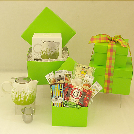 #39B Tea Gift Set in Green