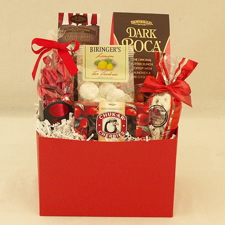 #40 Sweet Treats Gift Basket
