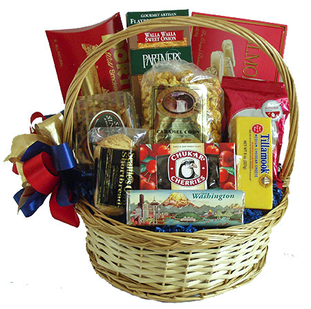 #6 Taste of the Great Northwest Gift Basket