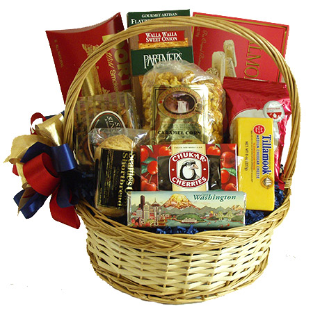 Celebration Gift Baskets - Send the Best of the Northwest : 6 ...