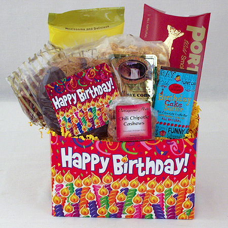 #68 Happy Birthday Gourmet Gift Box