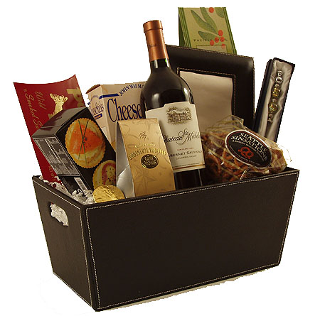 7 The Executive Wine Gift Basket