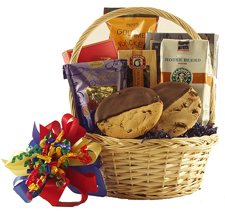 #64 Gourmet Gift Basket with Starbucks Coffee
