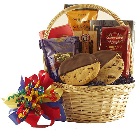 #65 Gourmet Gift Basket with Seattle's Best Coffee