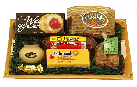 #8 Tillamook Beef Sausage and Cheese Gift Basket