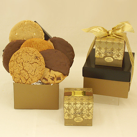 #84 Gourmet Cookies and Chocolates Gift Box